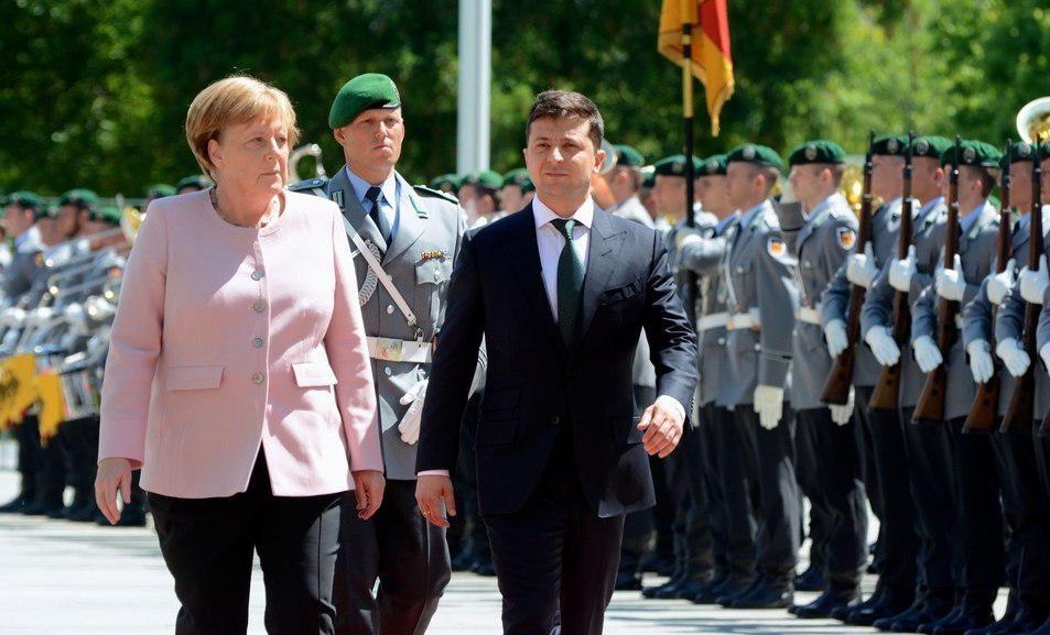 Германия, Меркель , МИД, Зеленский, Донбасс, Коррупция Шойбле