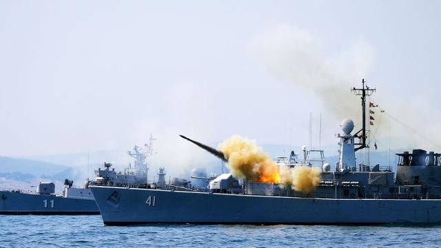 Военно-морские силы Украины начали подготовку к учениям Sea Breeze-2015