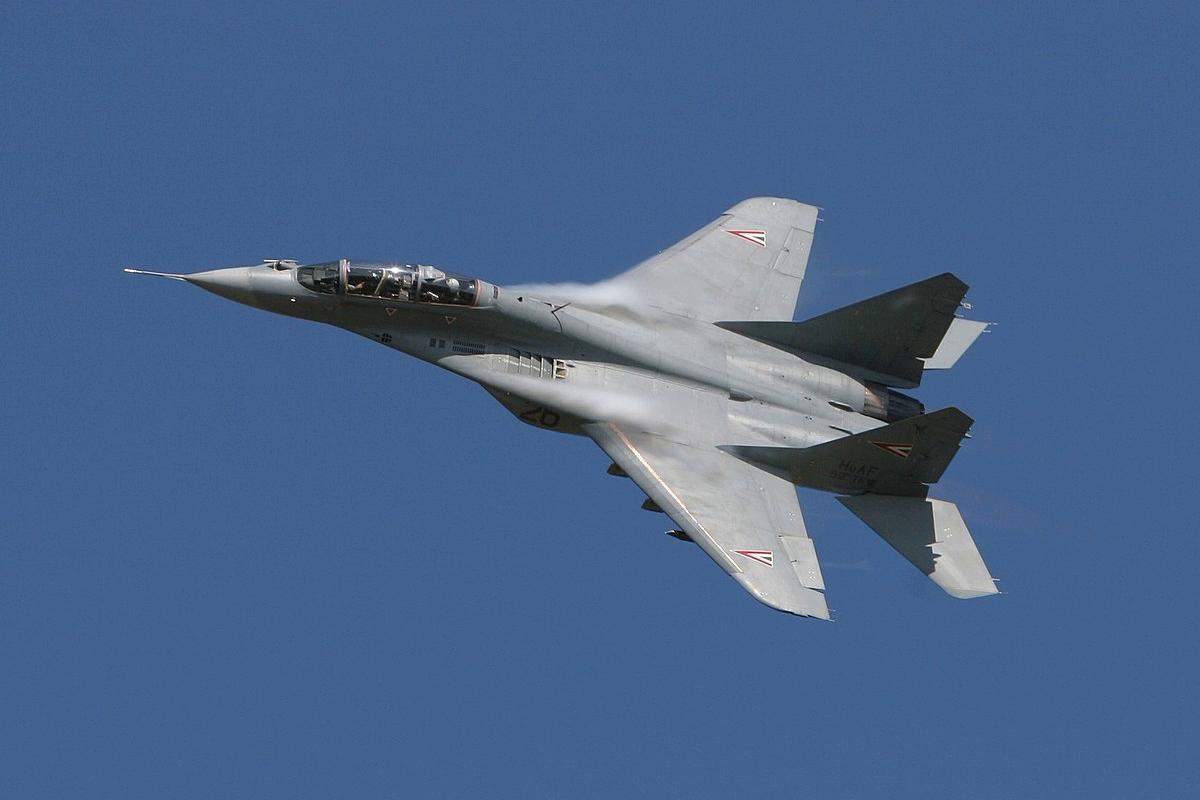 При крушении истребителя МиГ-29 в Сирии погиб бригадный генерал армии Асада: видео