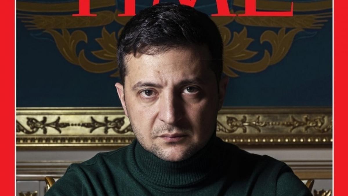 Зеленский появился на обложке Time: что написали в США об украинском президенте
