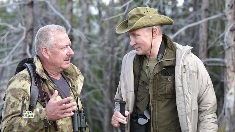 новости, Путин, тайга, лес, охотник, подставной, кто он, личность, фото