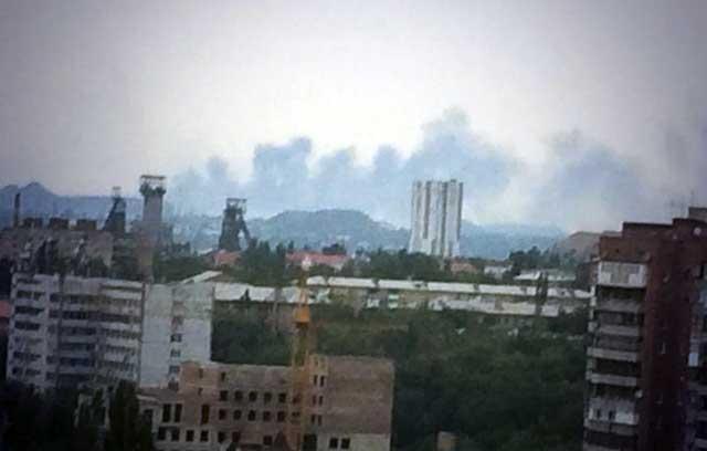 Бои в Ясиноватой: обстрелы не прекращаются неделю, стороны не успевают считать потери