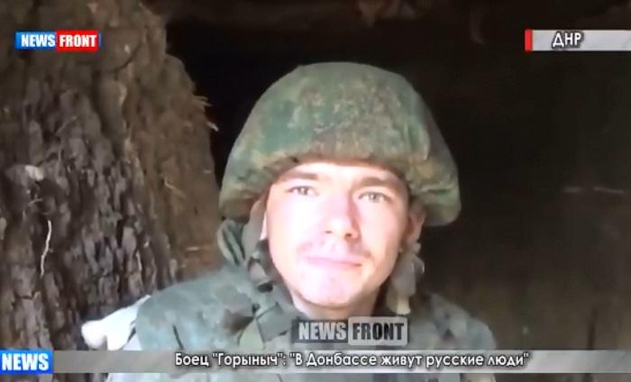 """Пропагандисты не дождались внятного ответа: боевик Горыныч из Бурятии """"не вспомнил"""", зачем он на Донбассе"""