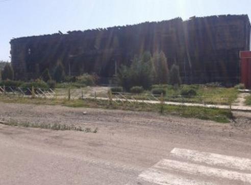 Разрушения в поселке Георгиевка Лутугинский район
