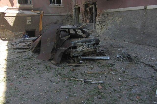 Житель Луганска: у меня сгорел дом, машина, скутер. Спасибо всем, я - бомж!
