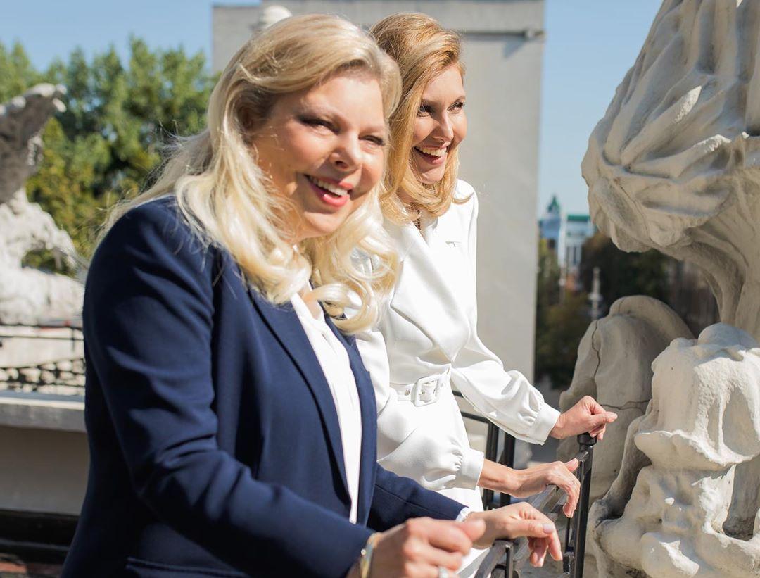 Елена Зеленская рассказала, о чем договорилась с женой Нетаньяху