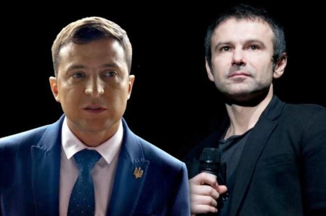 зеленский, вакарчук, слуга народа, партия голос, выборы, верховная рада, новости украины, выборы в украине, коалиция