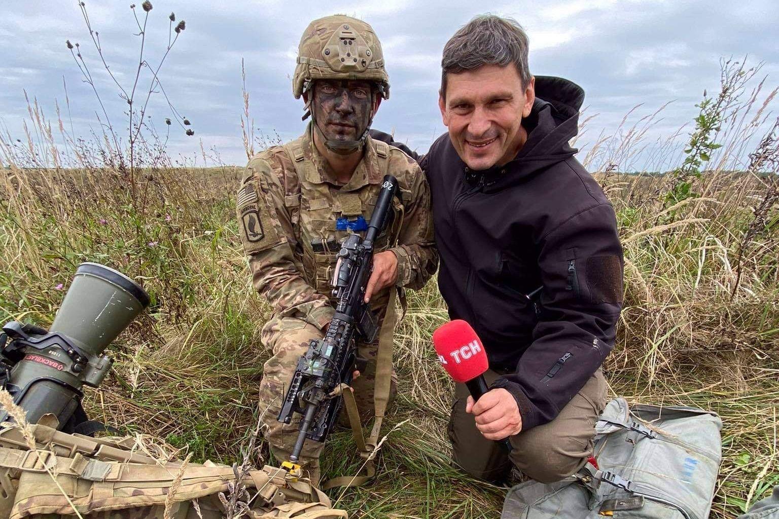 """Сержант ВС США Ален после десантирования с военными Украины: """"Ваши парни невероятны"""""""