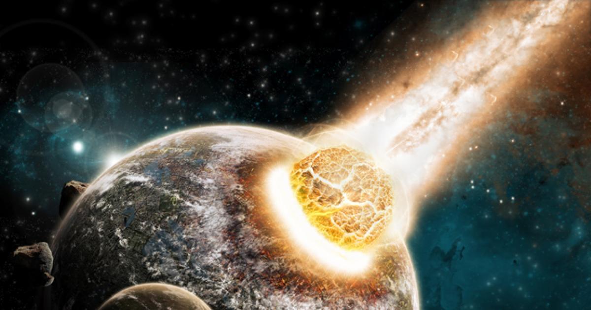 Путешественник во времени показал кадры, как смертоносная планета Нибиру уничтожает Землю
