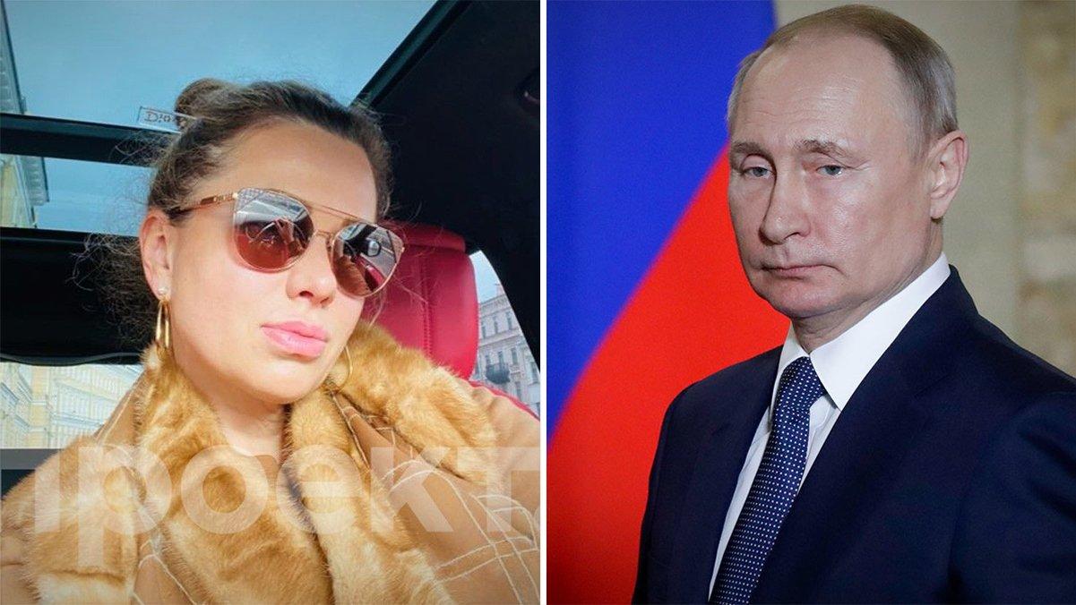 """Новонайденная """"дочь Путина"""" публикует в Сети откровенные фото"""