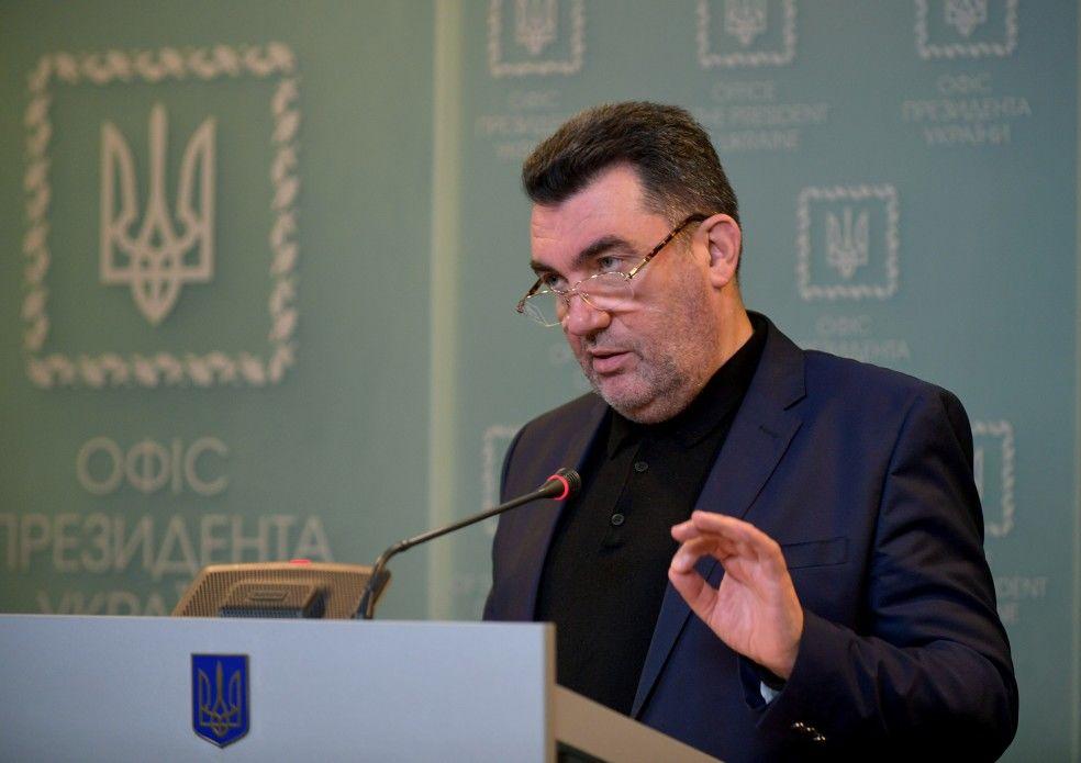 """Секретарь СНБО Данилов заявил о готовом """"достойном ответе"""" на агрессию России"""