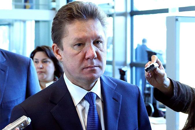 """Глава """"Газпрома"""" прибыл на трехсторонние переговоры по газу"""