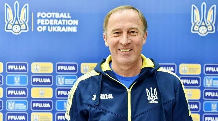 Вместо Шевченко: стало известно имя нового главного тренера сборной Украины по футболу