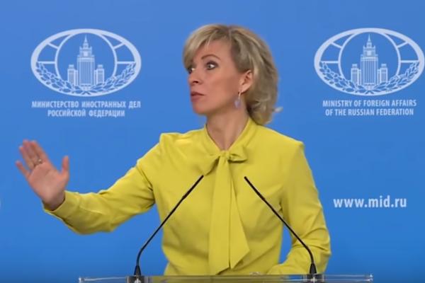 новости, видео, Цимбалюк, Захарова, Зеленский, пародия, скандал, ОБСЕ, спич