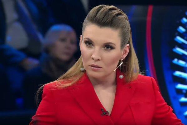 Пропагандистка Скабеева вновь опозорилась: она хочет вмешаться в дебаты Порошенко и Зеленского