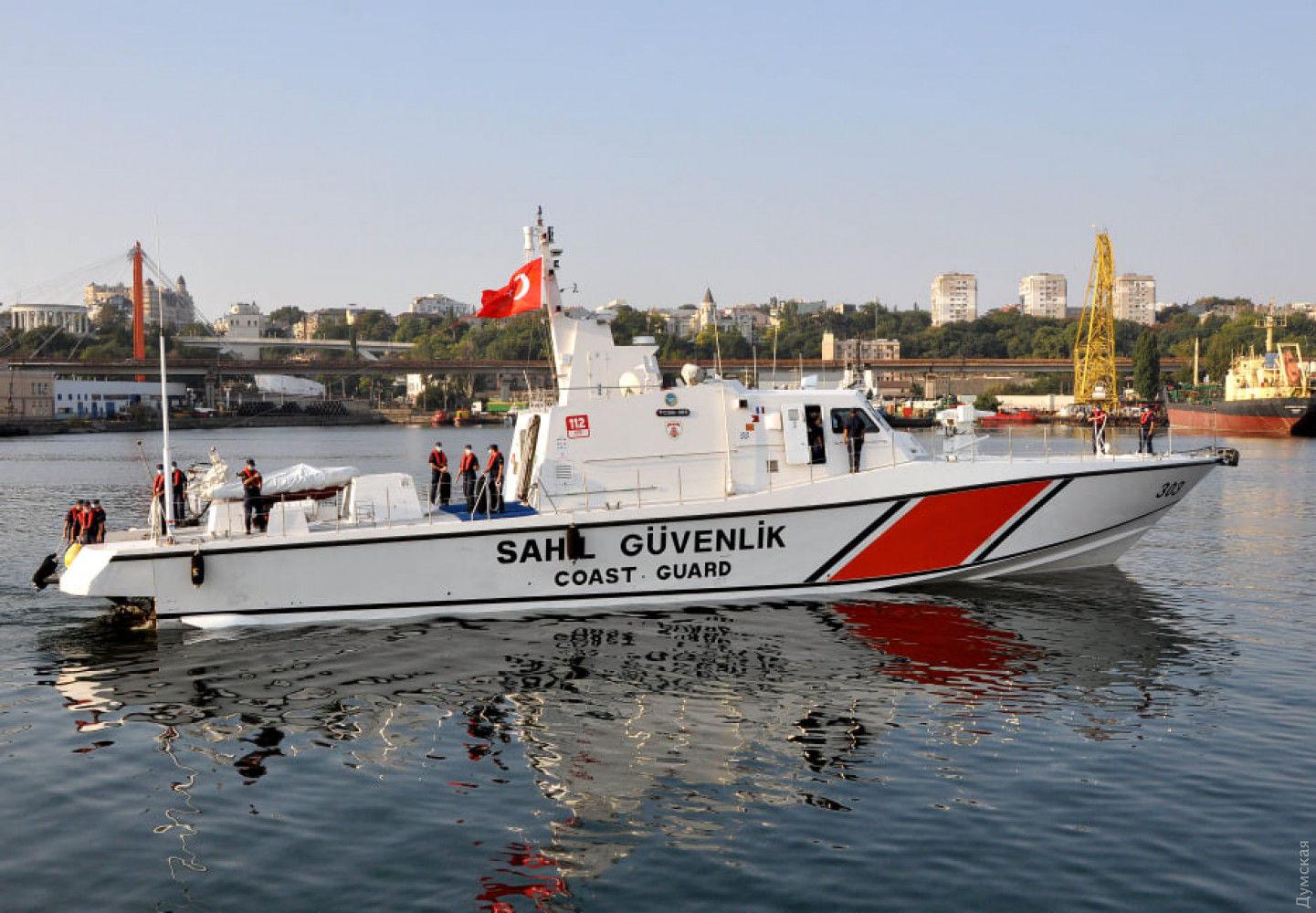 Стала известна цель визита турецкого патрульного катера в Одессу