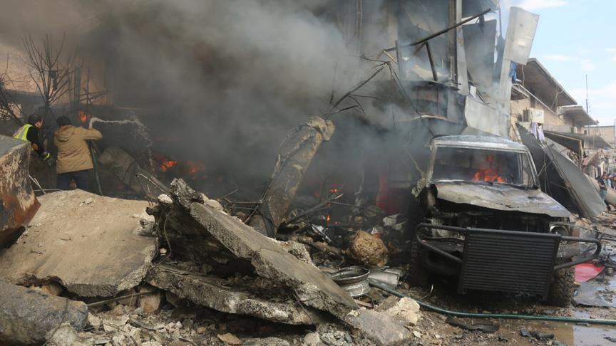 Очередной сигнал войскам Асада: вблизи турецко-сирийской границы террорист-смертник взорвал пропускной пункт