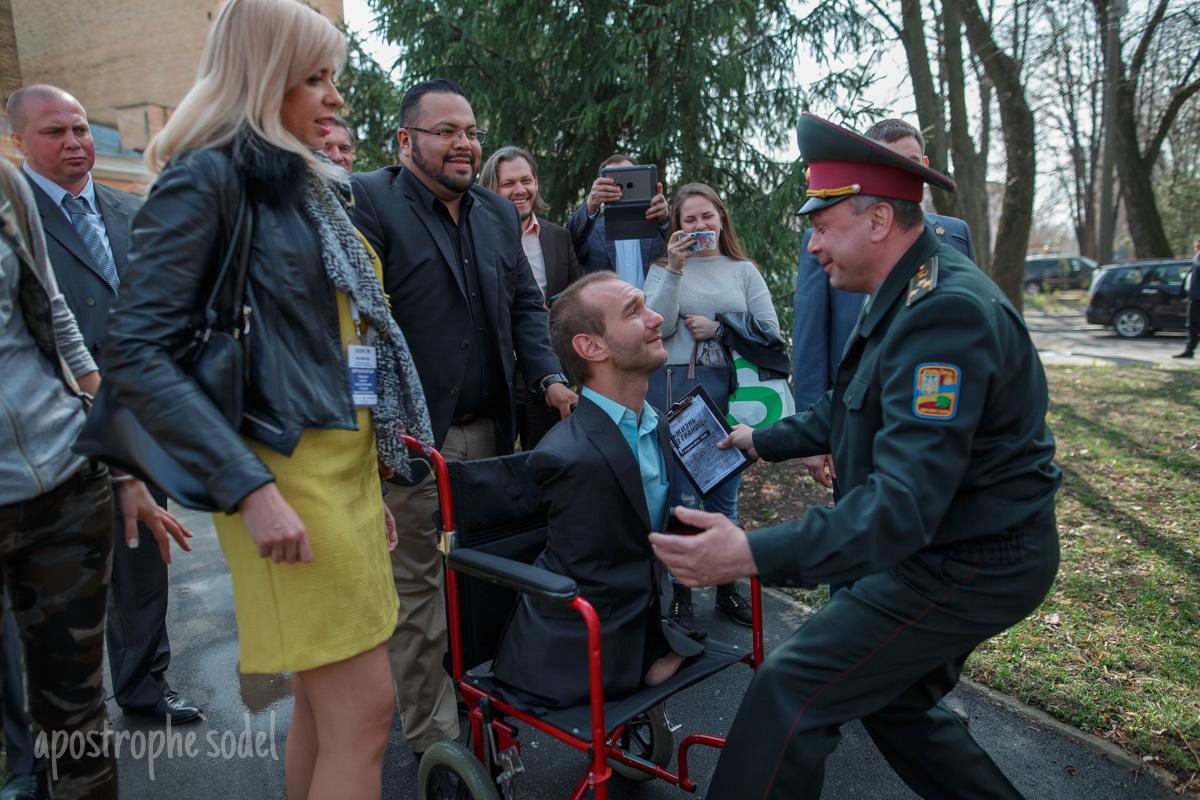 Украина, Киев, Вуйчич в Киеве, политика, общество, госпиталь, АТО, война, украинские военные
