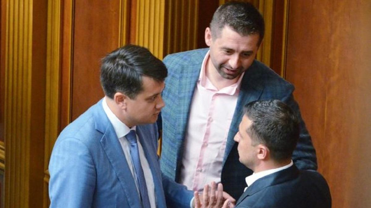 Назначение Саакашвили вице-премьером: Разумков и Арахамия раскрыли детали
