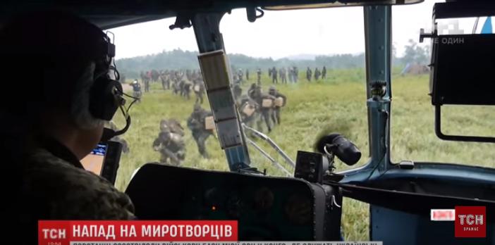Украинские военные разнесли в щепки позиции противника с помощью боевой авиации – кадры