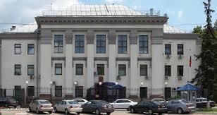 Крым, активисты, посольство России, акция, протест, пикет, Киев, татары