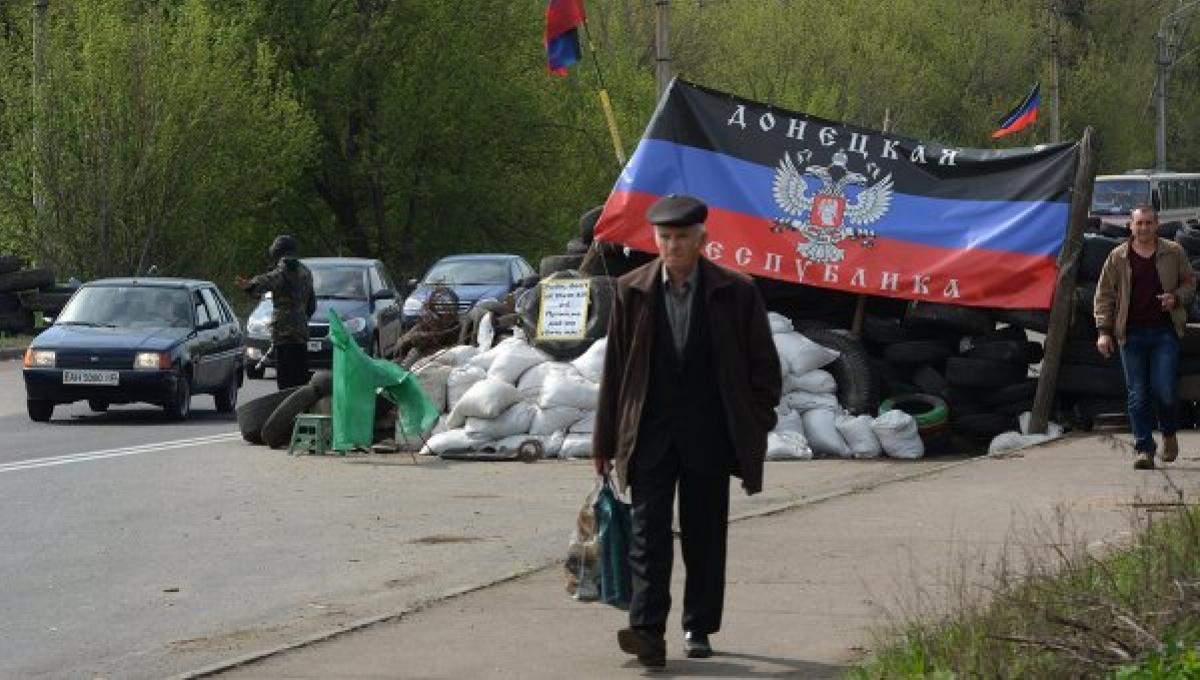 ДНР, восток Украины, Донбасс, боевики, жители, кпвв, блокпост