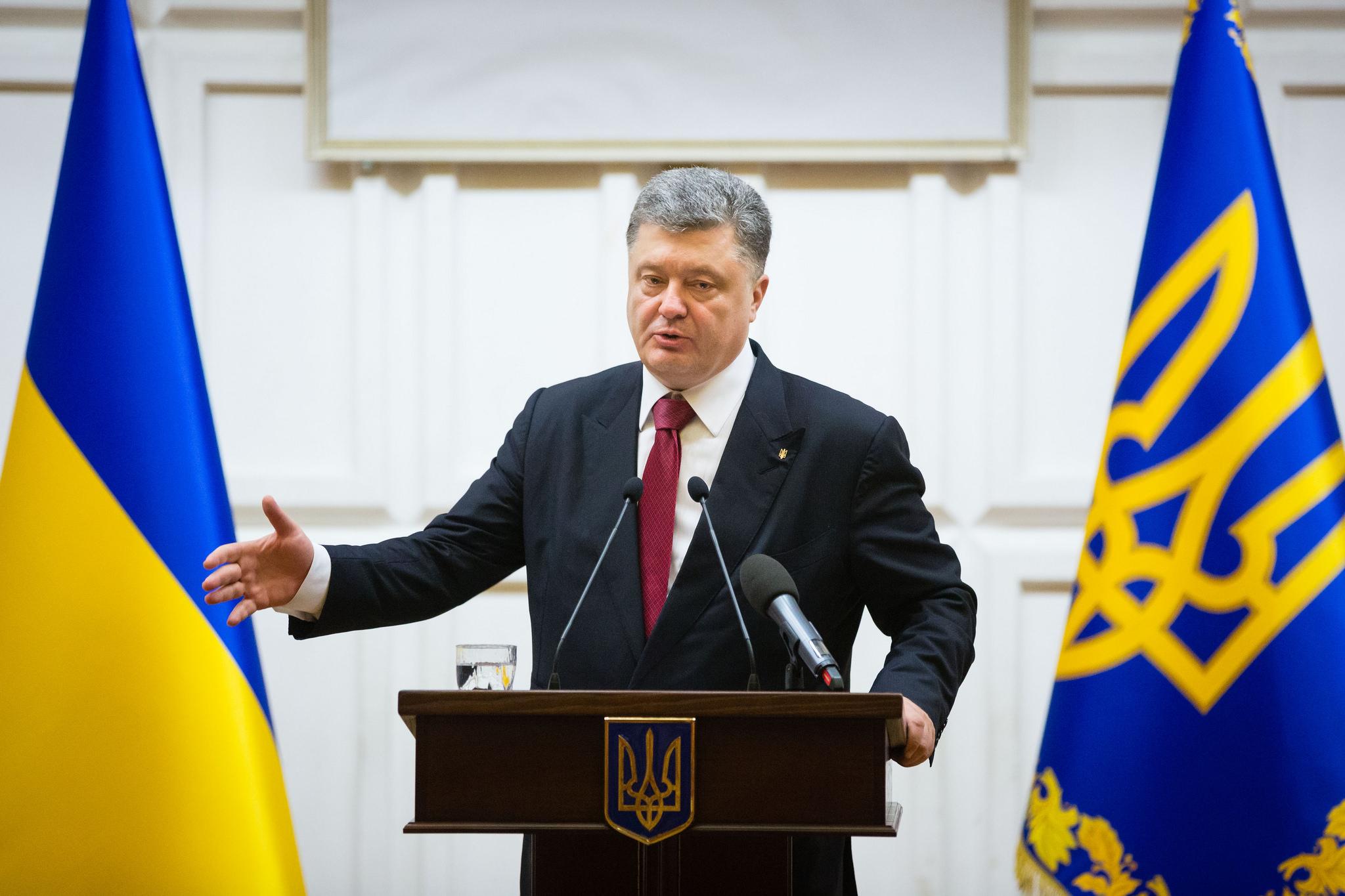 Порошенко в США назвал дату полного переформатирования Кабмина Яценюка