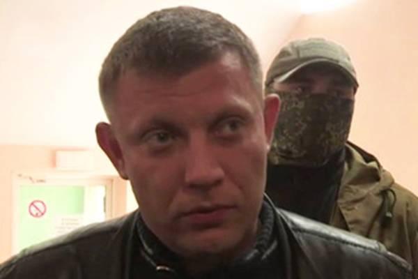 Новый премьер ДНР оценивает ситуацию на Донбассе «очень тяжелой, но не критической»
