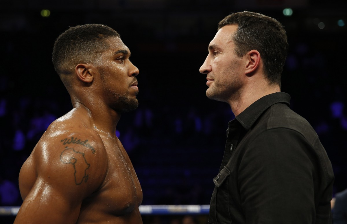 Реванш Кличко - Джошуа может состоятся при одном условии: стало известно, что может потребовать украинская легенда бокса
