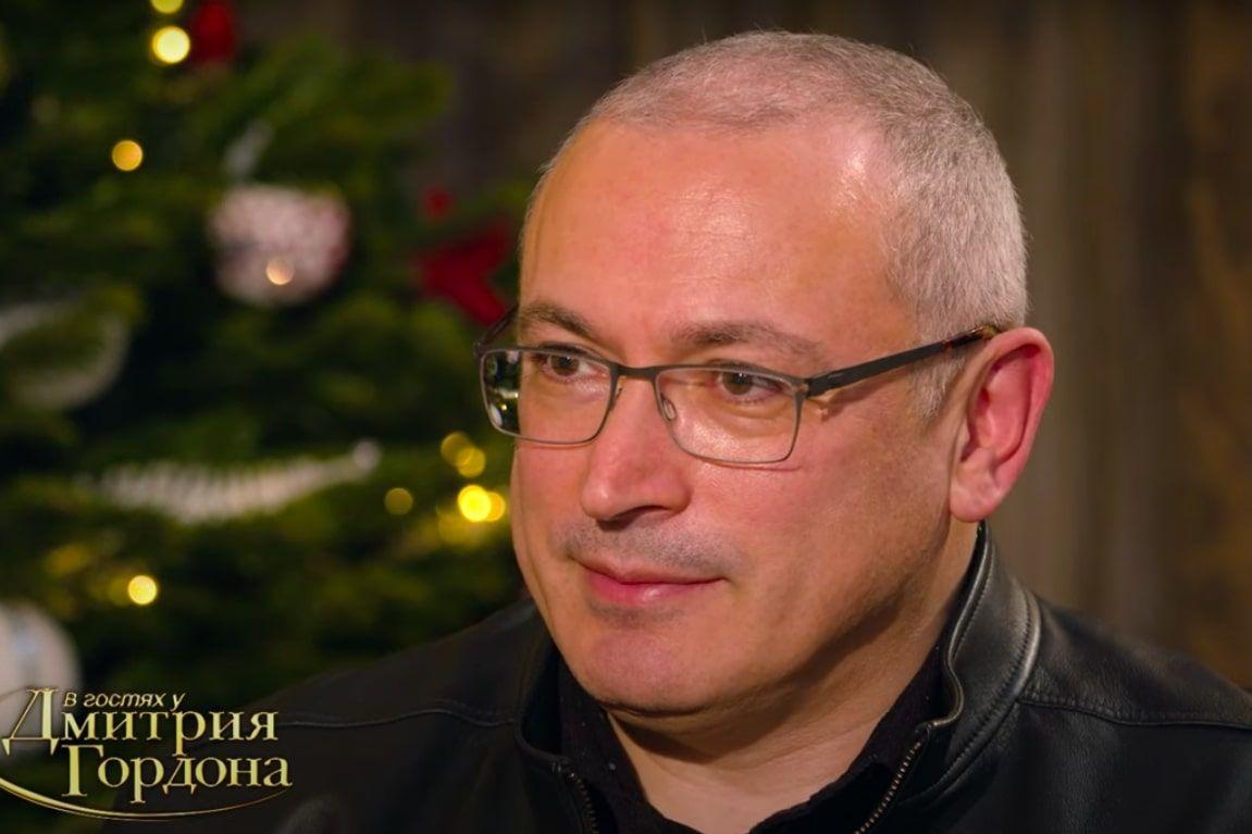 """Ходорковский сказал, что ждет Лукашенко: """"Даю два года"""""""