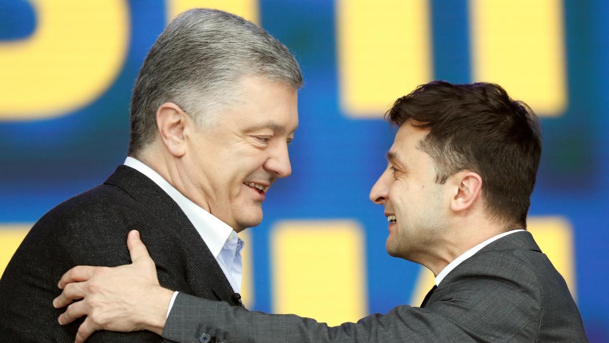 Украина, Опрос, Рейтинг, Порошенко, Эффективность, Зеленский.