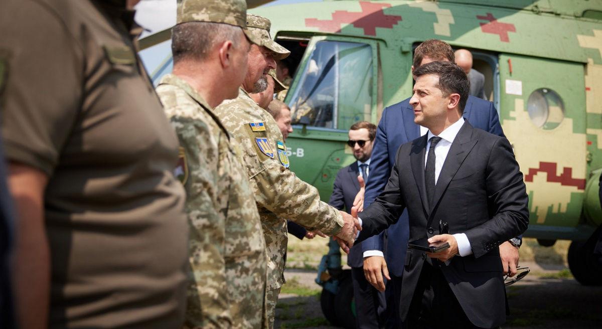 Зеленский прибыл на Донбасс в день освобождения Авдеевки для проведения СНБО