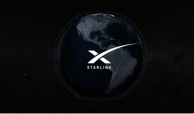 Илон Маск, SpaceX, Спутники, Starlink, Твит, Работает, Интернет, Орбита, Земля, Космос, Техника, Наука, Сеть, Земной шар