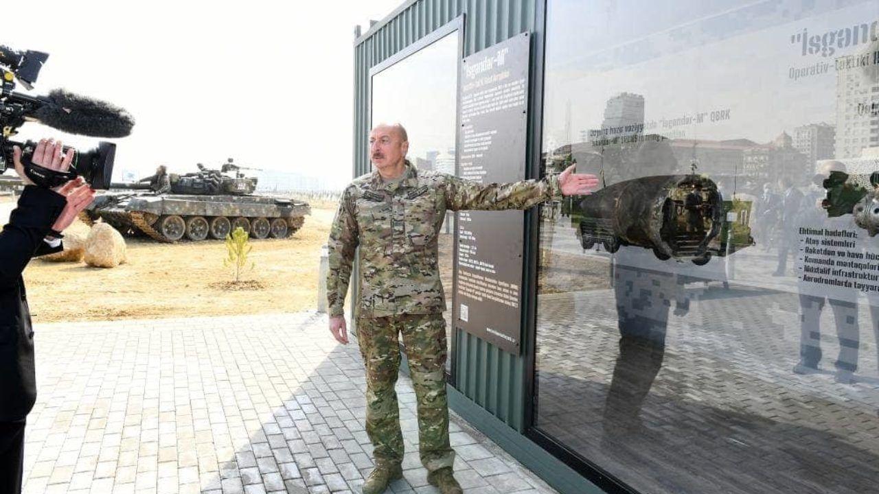 """Алиев требует объяснений по """"Искандер-М"""" в Карабахе: """"Как это оружие попало в руки Армении?"""""""
