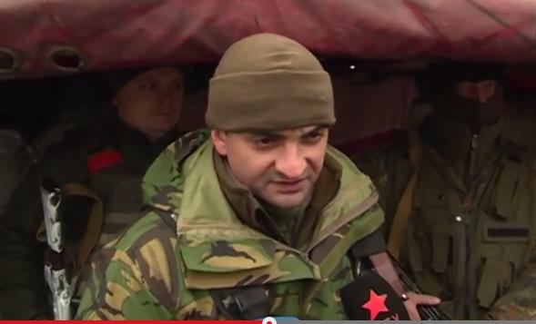 На передовой в Счастье воюют кадровые офицеры российской армии - боец АТО