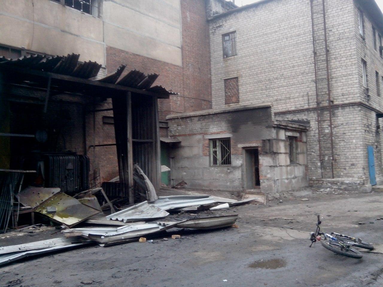 Донецкий металлургический завод обстреляли из миномета