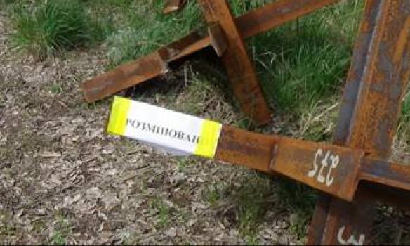 Ничего святого: на кладбище в Попасной найден тайник c реактивными огнеметами и штурмовыми гранатами российского производства