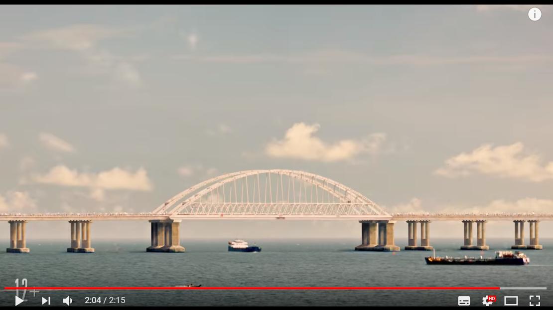 """Видео нового фильма про Крымский мост """"взорвало"""" соцсети - возмущены даже россияне"""