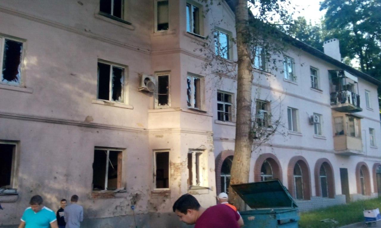В центре Донецка взрывы: стрельба слышна почти во всем городе