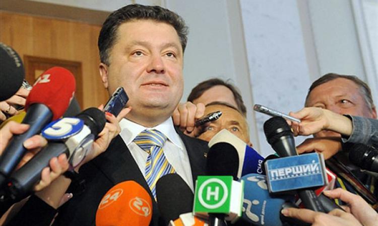 Петр Порошенко прибыл в Минск