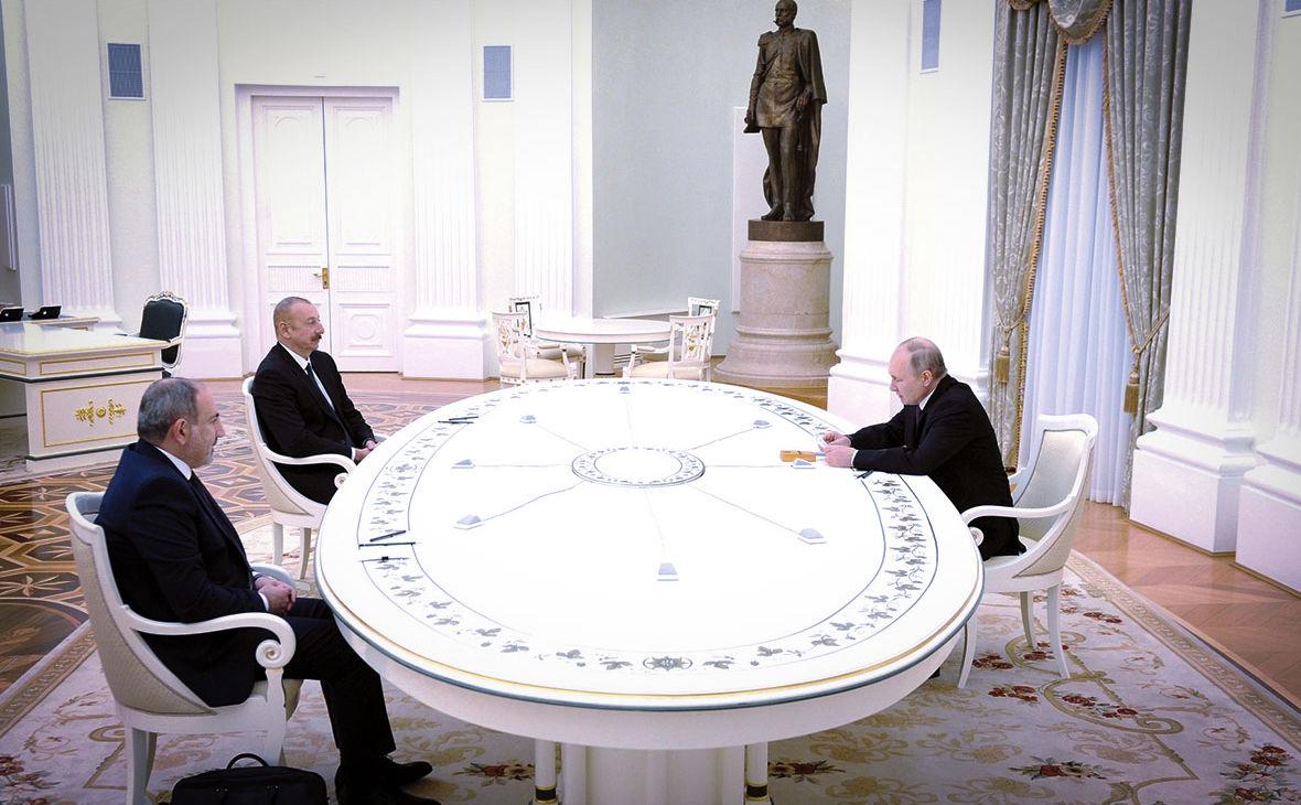Перед встречей с Путиным Алиева и Пашиняна навестили российские медики