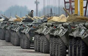 СНБО: войска России готовятся к прорыву в Украину