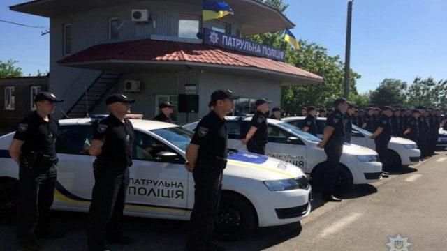 В Киеве установлен повышенный уровень террористической подготовки: на улицах тысячи полицейских