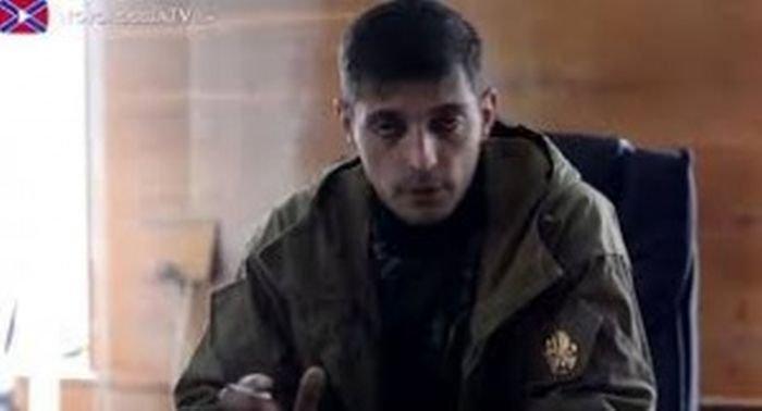 """Один из главарей террористов """"ДНР"""" Гиви получил легкое ранение в результате очередного нарушения перемирия боевиками"""