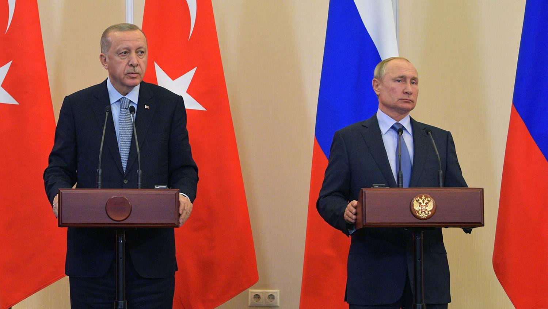 Эрдоган готовится к встрече с Путиным в Сочи: вопрос по Украине не указан в повестке