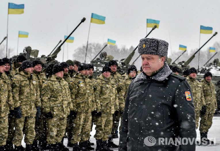 На Донбассе завершилась Антитеррористическая операция - Порошенко
