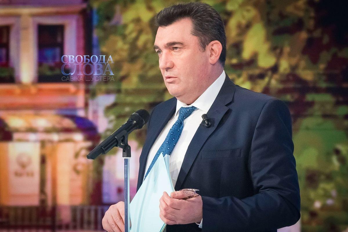 """""""Может, Божья кара?"""" - Данилов назвал """"причины"""" отключения нового """"канала Медведчука"""""""