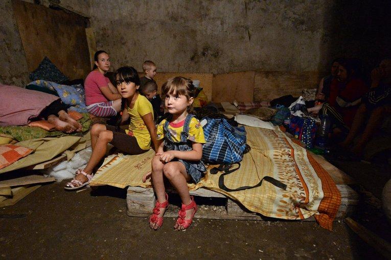 Утро в Донецке началось с обстрелов почти во всех районах города