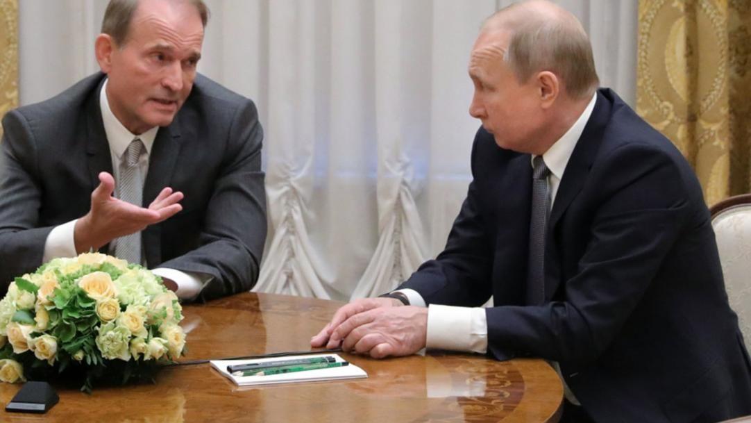 """Баканов рассказал о """"подарке"""" Медведчука спецслужбам РФ: """"Передал секретные данные о ВСУ"""""""