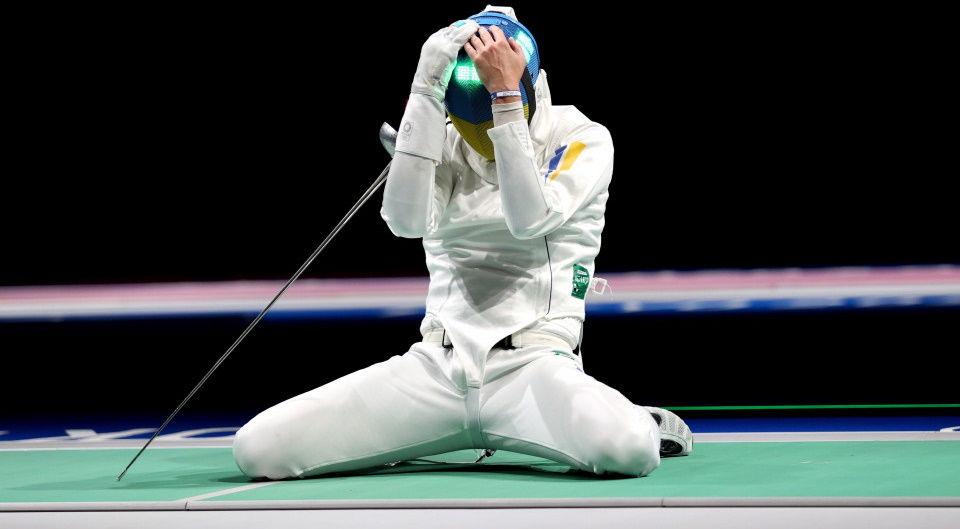 Олимпийские игры-2020: шпажист Игорь Рейзлин не прошел в финал, но завоевал медаль для Украины